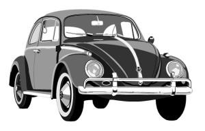 Der schwarze VW Käfer